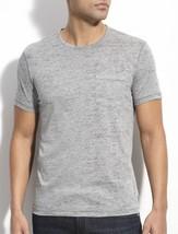 John Varvatos Star USA Men's Short Sleeve Burnout Crew T-Shirt Grey $89 ... - $54.90