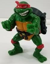 N) 1991 Teenage Mutant Ninja Turtles Talking Raphael Playmates Toys Mira... - $9.89