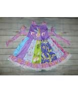 NEW Boutique Tinker Bell Fairies Girls Sleeveless Ruffle Twirl Dress - $19.99
