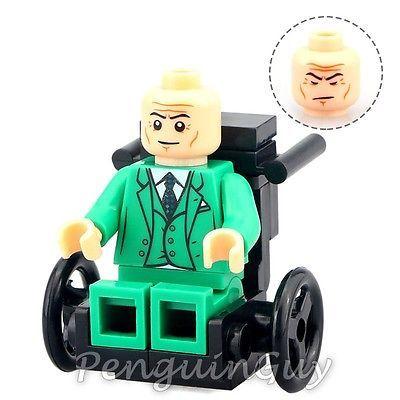 Used, Unbranded Professor X Minifigure Marvel X-Men Universe Fits Lego Uk Seller for sale  USA