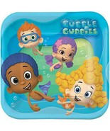 Bubble Guppies Lunch Dinner Plates 8 Per Package Birthday Party Supplies... - $8.86