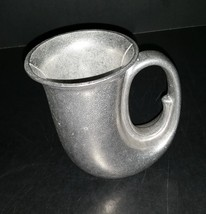 Vintage 1982 Unused Wilton Armetale Noggin Mug Aluminum French Horn Style - $15.99