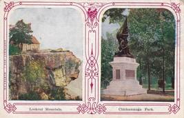Lookout Mountain Chickamauga Park Georgia GA Postcard 1910 Canton Kansas... - $2.69