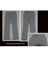 H&M Pinstriped Jeans NWT Juniors Sz 6 Slim Fit Gray - $16.99