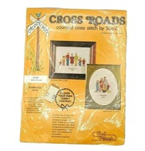 VTG 1981 NOS Counted Cross Stitch Kit Design Your Own Family Portrait 8.... - $19.95
