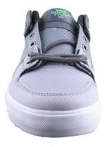 Supra Men's Vaider Low Fade Grey/White Nylon Skateboard Shoes Sneaker S36042 NIB image 4