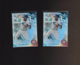 2017 Bowman Platinum #83 Ben Zobrist Chicago Cubs  Lot of 2 - $1.00