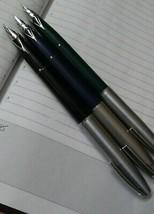 Sheaffer Imperial 3 Pc Fountain Pen Chrome Trim Made In USA - $94.05