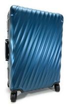 Tumi 19 Degree ALUMINUM Short Trip Spinner Suitcase Blue Luggage - $712.79