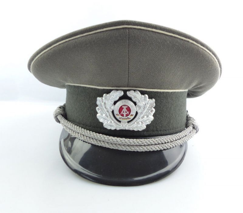 7f84e9c47b8b1 New East German Army Officer s visor hat cap army military communist NVA DDR  GDR