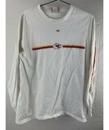 Kansas City Chiefs Calcio Manica Lunga T-Shirt Taglia M - $10.80