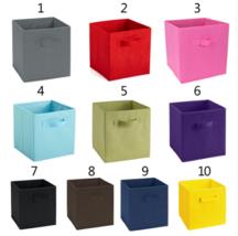 1 PCS Office Foldable Book Underwear Bra Socks Ties Storage Box Cube Bas... - $20.00