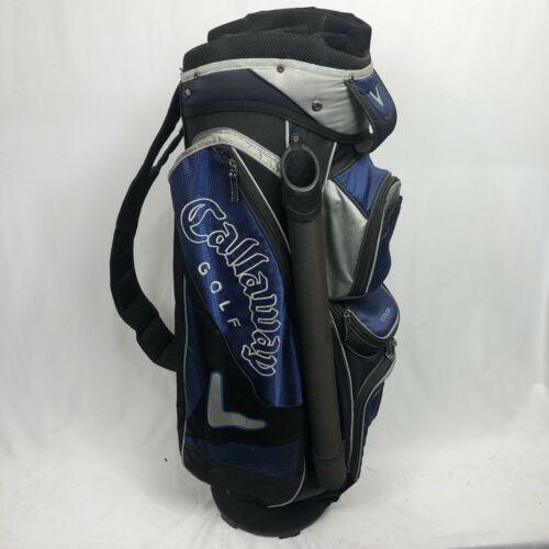 Callaway cart bag blue and silver 8 way divider - $56.06