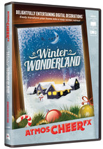 Atmoscheerfx Winter Wonderland DVD Holiday Display Digital Decorations - £15.05 GBP