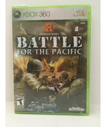 The History Channel: Battle for the Pacific (Microsoft Xbox 360, 2007) - $22.12