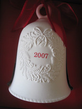 Holiday Hallmark Porcelain Bell 2007 - $3.99