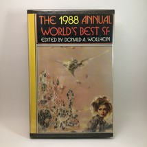 The 1988 Annual Worlds Best SF Edited Donald Wollheim BCE Hardback Book ... - $9.90