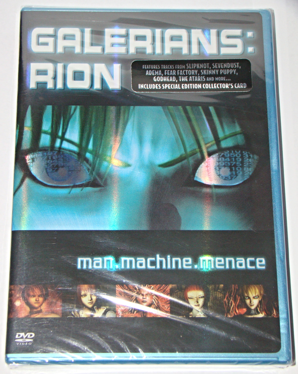 Galerians Rion Man Machine Menace Dvd And 12 Similar Items