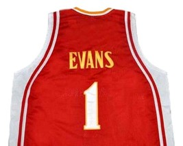 Tyreke Evans McDonald's All American Basketball Jersey Sewn Red Any Size image 4