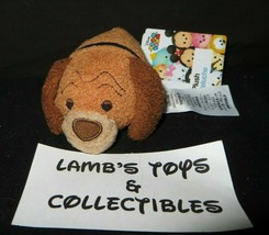 Disney Store Authentic USA Trusty of Lady & The Tramp tsum tsum mini 3.5... - $28.48