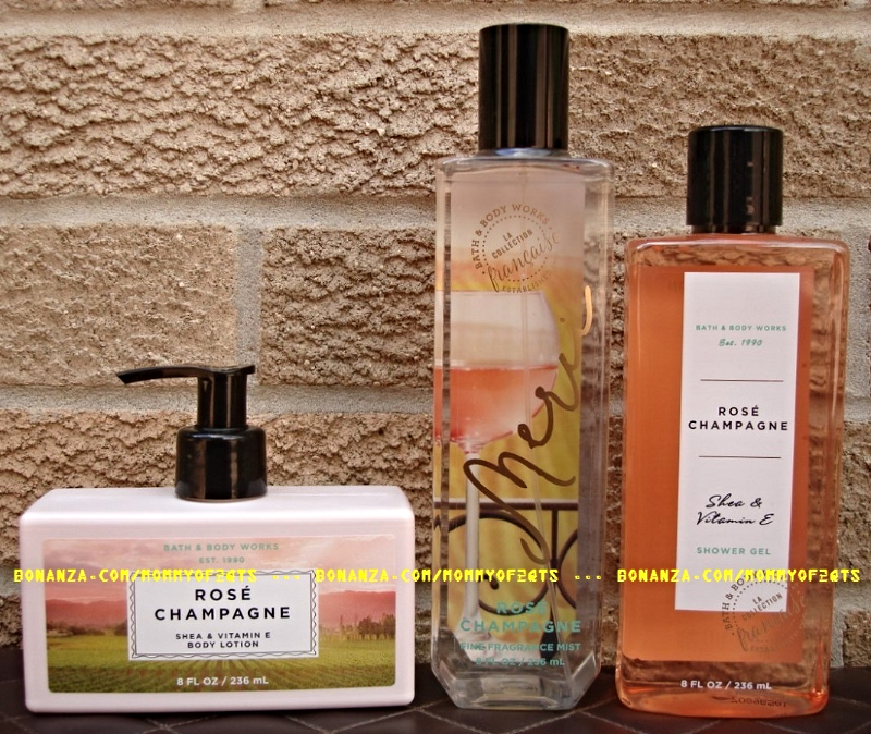 Rose Champagne Bath And Body Works Fragrance Mist Body