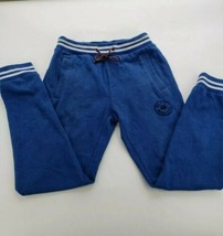 Tommy Hilfiger Womens Sweat Pants Joggers Size XS Blue NY Athletic Ladies - $18.69