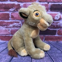 Vintage 90s Disney Store The Lion King Simba Plush Stuffed Animal Toy Me... - $24.99