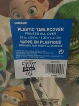 Toy Story 4 Tablecover Plastic 54 x 84 Buzz Woody Bo sealed new!!! image 3