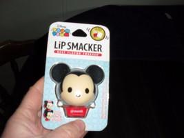 New Disney Tsum Tsum Lip Smacker Mickey Mouse Lip Balm Marshmallow Pop Flavor - $9.99