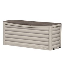 All Weather Outdoor Large Storage Shed Box Modern Storage Furniture 103 ... - $114.84