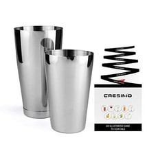 Boston Shaker Cocktail Making Set:18oz Unweighted & 28oz Weighted Profes... - $16.83