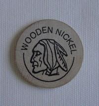 Vintage Wooden Nickel Token, The Door Knob Skagway Alaska (T) - $8.59