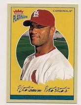 2004 Fleer Platinum Portraits Albert Pujols Card # 10 of 10 - $5.00