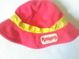 Playskool My little buddy red Playskool vintage hat  - $9.99