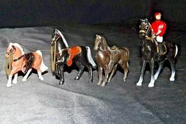 Metal Horses (Group of 4) AA20-2454 Vintage
