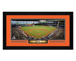 "Marlins Park Miami Marlins - 6.75"" x 13"" Miniframed Photo Montage - $38.95"