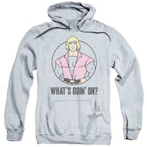 He-Man Masters of the Universe Whats Goin On? Graphic Hoodie Retro 80s DRM277 image 1