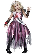 California Costumes Zombie Prom Queen Dress Child Girls Halloween Costum... - $29.99