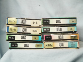 Camera 49mm Hoya Camera Filters x 8 - Cased Boxed - Nice Starter Set-  - $12.00