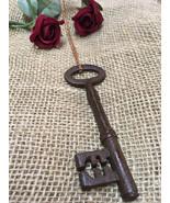 Long Key Necklace - Skeleton Key Authentic Vintage Antique Pendant - 18t... - $24.99