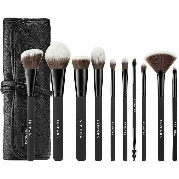 SEPHORA COLLECTION Ready To Roll Brush Set 10 Brushes NiB - $115.00