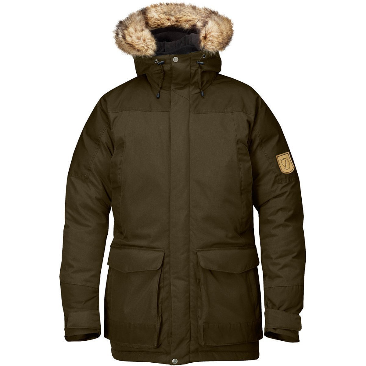 Fjallraven Men's Kyl Parka, Large, Dark Olive