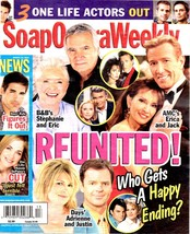 Soap Opera Weekly Magazine March 30, 2010 Reunited -Who Gets a Happy Ending - $2.50