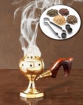 Home Incense Kit with brass censer - $76.95