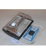 Gillette 1961 Fat Boy Razor TTO Replated Platinum W Case Blades Instruct... - $290.00