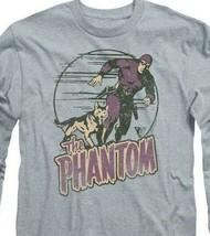 The Phantom t-shirt retro comics strip long sleeve graphic tee WSF180 image 2