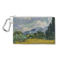 Vincent Van Gogh Fine Art Painting Canvas Zip Pouch - $15.99+