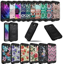 Shockproof Rugged Dual Layer Stand Case For J7 Sky Pro / J7 Perx / J7V - $4.94+