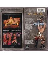 WRESTLEMANIA XII BRAND NEW SEALED WWE WWF WRESTLING VHS - $6.34