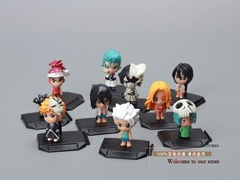 Anime Bleach Ichigo Kurosaki Orihime Inoue PVC Play Figure Collection 10... - $14.00